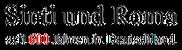 Sinti und Roma in Deutschland Logo