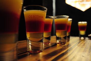 Getränke für jeden Geschmack findest du im Foormat: Cocktails, Longdrinks, Shots, Bier, Sekt, Wein, Softdrinks uvm.
