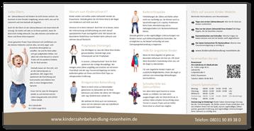 Kinderzahnbehandlung Rosenheim - Stephanskirchen: Information für Eltern