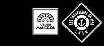 LOGO LISAA Ateliers MALEGOL SNSM