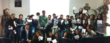 Consegna Eipass card - alunni 1° Liceo (Istituto Fratelli Maristi)