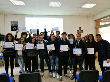 Istituto Fratelli Maristi - Consegna diplomi Ei-pass 5 Liceo