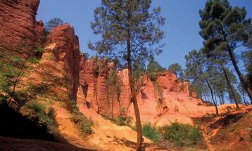Chambre d'hôtes Roussillon Colorado Provençal Provence