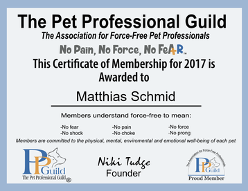 Mitgliedschaft PPG Zertifikat