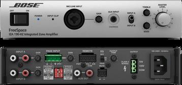bose, freespace, iza 190hz, amplificador para instalaciones