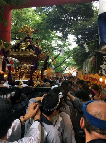 令和元年, 花園神社例大祭, 陰祭, 新宿, 新宿鎮座,連合神輿渡御