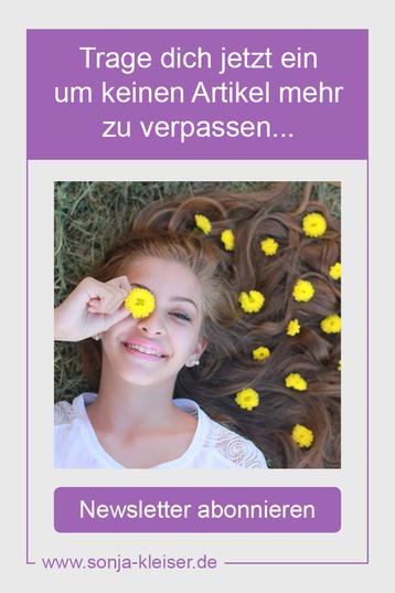 abboniere jetzt den Newsletter- Sonja Kleiser - Werbung & Design