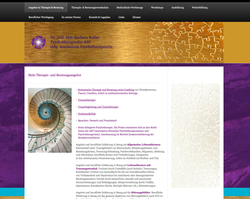 Website für Fr. B. Koller-Robinson