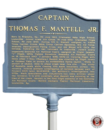 Captain Thomas F. Mantell Jr.
