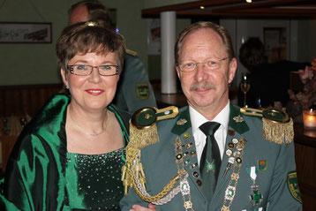 Königspaar Karola und Andreas Neubauer
