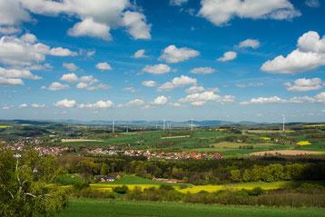 Panoramablick von der Hohen Asch © Lippe Tourismus & Marketing GmbH