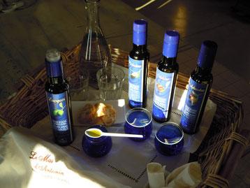 dégustation huile olive