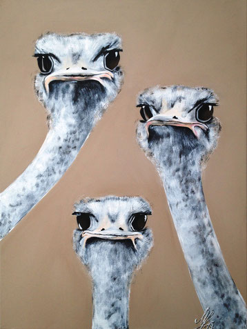 """Eliza, Susan and Gloria"", 2013, acrylic on canvas, 60x80"