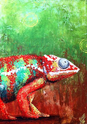 """""""Igor"""", 2012, acrylic on canvas, 50x70"""