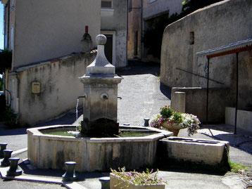 Fontaine octogonale