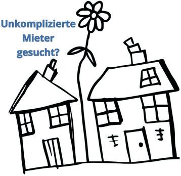 Symbol-Bild: Unkomplizierte Mieter gesucht?
