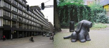 市内にあった旧本店, ABN Amro's Old HQ, Vijzelstraat Amsterdam