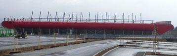 Die neue Continental Arena in Regensburg