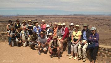 Voyage en Namibie le 7-10-16