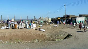 Mercato di Ntulelei, Contea di Narok - Kenya