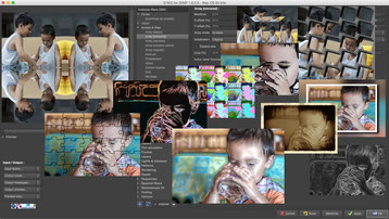 G'MIc is a plugin to GIMP it is featured with countless photo effects