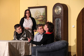 Dagmar Rieß, Andreas Fuchs, Andre Grabbe-Heitmann und Birgit Bock