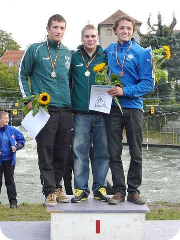 Jürgen Kraus - Deutsche Meisterschaft im Kanuslalom