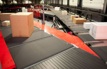 Vanderlande is leading specialist in sorting systems  -  company courtesy