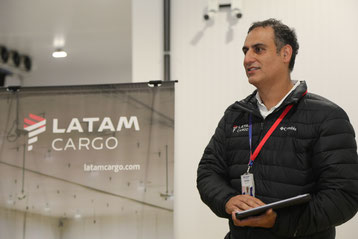 The US$3.5 million cool center is worth the investment, Andrés Bianchi  -  photos: LATAM Cargo