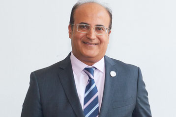 … and Astral CEO Sanjeev Gadhia agreed on the cooperation of their 2 freight airlines  -  courtesy Astral Aviation