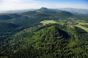El parque natural de volcanes