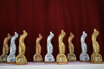 World Award Trophies. Photo by Daniel Janesch