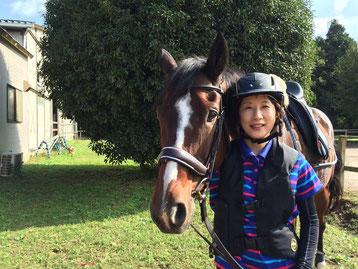 Sさんが馬に乗る理由