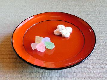 京都老舗の季節のお干菓子