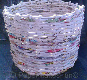 Paper-Roll-Basket