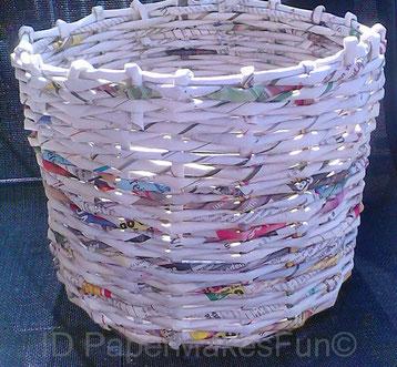 Paper-Roll-Basket