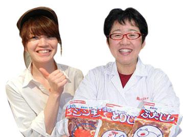キャトルフィーユ市岡さん(左)スズキヤ鈴木さん(右)