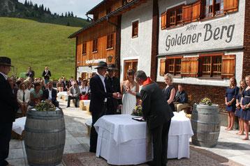 Hochzeit im Hotel Goldener Berg am Arlberg
