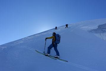 doldenhorn, Skitour, Skihochtour, Kandersteg, Tagestour, Spalte, Gletscherbruch, Spaltenzone