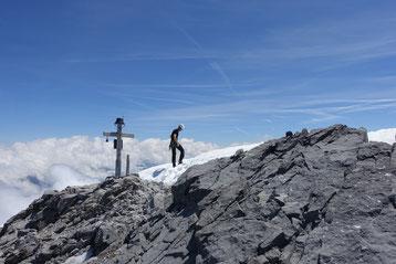 Glärnisch, Vrenelisgärtli, Chalttäli, Nordwand, N-Wand, Gipfel