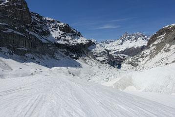 Skihochtour, Monterosa, Nordend, Cornerschlucht