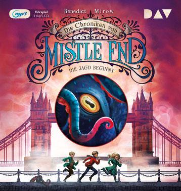 CD Cover Chroniken von Mistle End - die Jagd beginnt