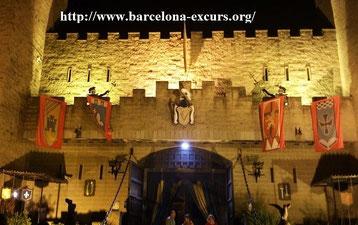 Гид в Барселоне - рыцарский турнир+фламенко