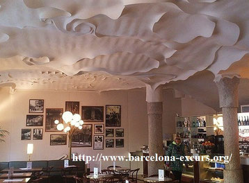 Ла Педрера - потолки