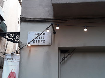 Барселона. Улица Дам.