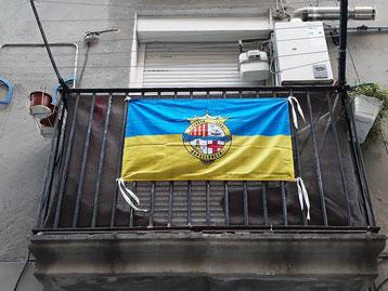 Блог о Барселоне. Флаги Барселоны. Флаг Барселонеты