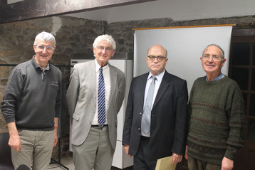 Jean-Jacques Le Floch, Adrien Le Formal, Jean-René Gentric, Michel Ezan