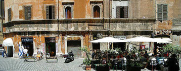 The Jewish Ghetto in Rome, Via Portico d'Ottavia