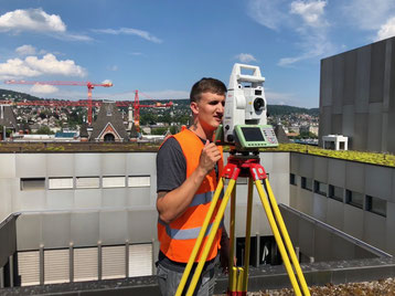 Einmessen von Fixpunkten, SCOR Zürich