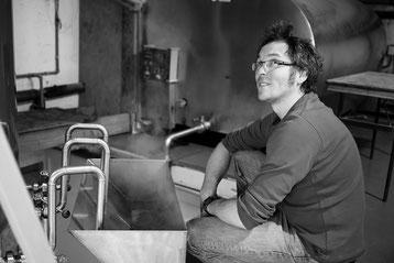 Gregory Verhelst, patron de la brasserie de la Rulles et créateur de la nouvelle Cré Tonnerre